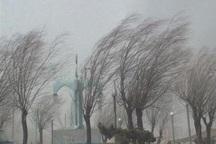 هواشناسی اردبیل درباره خطرات تندباد هشدار داد