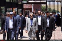 بازدید معاون رئیس جمهوری از مجموعه دهکده طبیعت قزوین