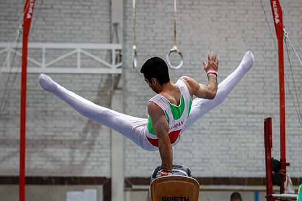 قزوین، اردوی تیم ملی ژیمناستیک هنری را میزبانی می کند