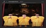 رضا گلزار و امین حیایی با لباس بودایی+عکس