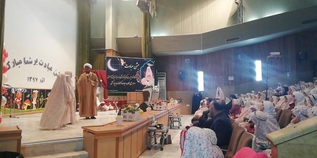750 دانش آموز دختر اردکانی، تکلیف رسیدن خود را جشن گرفتند