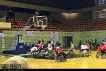 پایان نخستین روز رقابت های لیگ دسته اول بسکتبال با ویلچر کشور در بندرعباس