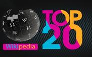 ۲۰ مقاله ویکی پدیا با بیشترین میزان ویرایش در سال ۲۰۱۶