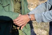 ۶ متخلف زیست محیطی در لرستان دستگیر شدند