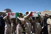 پیکر پاک 2 شهید مرزبانی در ارومیه تشییع شد