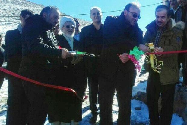 9 پروژه عمرانی در کوراییم نیر افتتاح شد