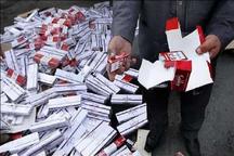 2 هزار و 500 پاکت تنباکو قاچاق در زنجان کشف شد