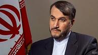 امیرعبداللهیان:اهتمامی ویژه به امنیت وثبات لبنان داریم/قدردانی قانصو ازمواضع عزتمندانه ایران