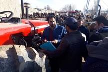 طرح راستی آزمایی ادوات کشاورزی در جنوب آذربایجان غربی اجرا شد