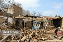 تحویل نمادین خانه های بازسازی شده روستای سیل زده چنار