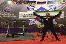کسب مقام نخست مسابقات پاورلیفتینگ روسیه توسط ورزشکار لرستانی
