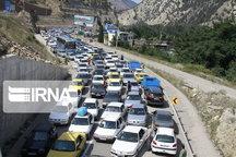 ترافیک در مسیرهای ورودی به مازندران سنگین است
