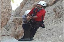 گردشگر گرفتار در ارتفاعات داورزن نجات یافت