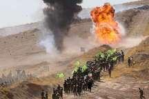 رزمایش مدافعان حرم در یاسوج پایان یافت