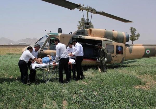 نجات ۹ نفر گرفتار در سیل روستای «چم مهر»