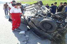حوادث رانندگی در لرستان 2کشته برجا گذاشت