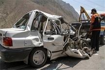 یک کشته در برخورد 2 خودرو در بیرجند