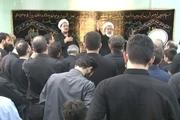 مراسم عزاداری ظهر تاسوعای حسینی در محضر استاد امجد