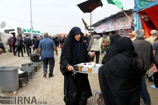یک هزار و ۵۰۰ موکب در خوزستان به زائران اربعین خدمات میدهند
