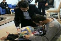هوادار تیم والیبال شهرداری ارومیه مورد تجلیل قرار گرفت