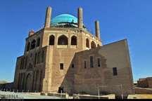 2368 گردشگری خارجی از گنبد جهانی سلطانیه بازدید کردند