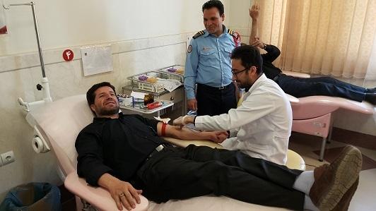 اهدای خون در تربت حیدریه 2 درصد کاهش یافت