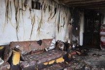 انفجار و آتش سوزی یک منزل مسکونی در اراک یک مصدوم به جا گذاشت