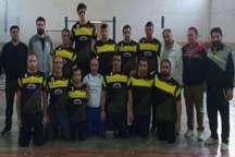 تیم سامان سوله آمل صدرنشین لیگ دسته یک والیبال نشسته مردان کشورشد