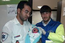 اورژانس شاهرود جان مادر و نوزاد را نجات داد