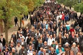 پیادهروی بزرگ خانوادگی در مشهد برگزار شد