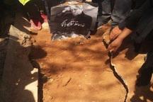 عزت الله انتظامی در کنار خسرو شکیبایی به خاک سپرده شد + عکس