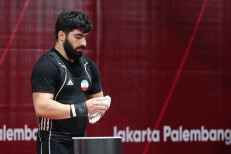 ترک اردوی تیم ملی توسط ملیپوش وزنهبرداری