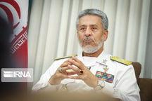 دریادار سیاری به منظور بازدید از مرزهای غربی وارد کرمانشاه شد