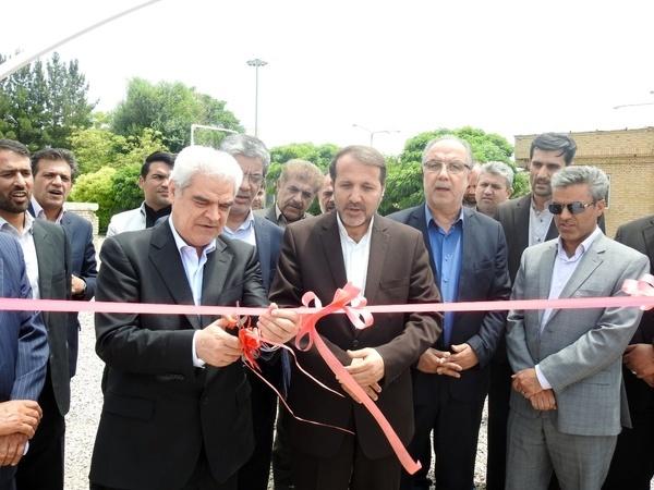 افتتاح و بهره برداری از مخزن بتنی، ایستگاه پمپاژ و خط انتقال آب شهرک صنعتی قوچان