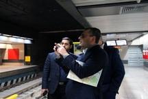 پیشرفت های صورت گرفته در مترو تهران مطلوب است