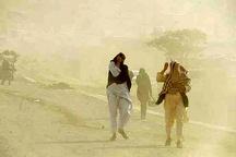 وزش باد با سرعت 104 کیلومتر در سیستان و بلوچستان  غلظت گرد و غبار 19 برابر حد مجاز