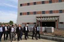معاون وزیر راه و شهرسازی: بیمارستان 220 تختخوابی اوایل پاییز آماده بهره برداری است