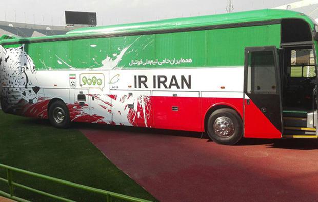 تلویزیون اتوبوسی جام جهانی در گرگان نصب می شود