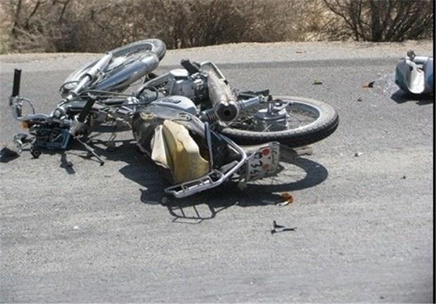 واژگونی موتورسیکلت با پنج مصدوم