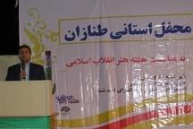مراسم طنازان محلی سرا در دشتی بوشهر برگزار شد