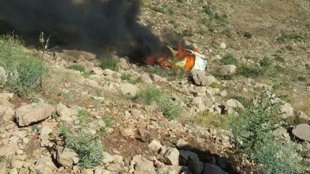 هویت جان باختگان حادثه آتش سوزی خودرو در بانه مشخص شد