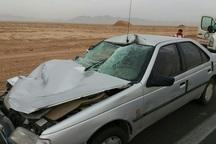سانحه رانندگی در جاده اسلام آبادغرب یک کشته به جا گذاشت