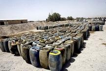 3500 لیتر سوخت قاچاق در سربیشه کشف شد