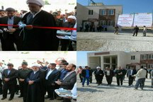 13 طرح عمرانی و خدماتی در چرداول افتتاح و کلنگ زنی شدند