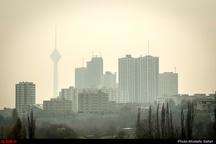 هوای تهران با شاخص 100 در مرز آلودگی