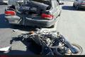 یک کشته بر اثر برخورد موتورسیکلت با پراید در آبیک
