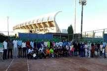 مسابقات تنیس قهرمانی جام رمضان در ارومیه پایان یافت