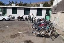 31 دستگاه خودرو و موتورسیکلت سرقتی در بوکان کشف شد