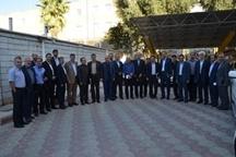 بازدید هیئت عالی بازرسی صنعت نفت از شرکت ملی پخش فرآورده های نفتی منطقه لرستان