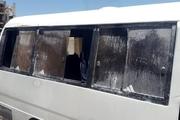 حریق در مینی بوس سرویس مدارس در اهواز  حادثه صدمات جانی در بر نداشت